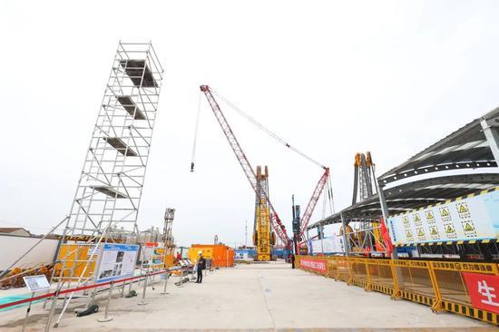 机场联络线最新建设进展来了 全程40分钟沿线设9站