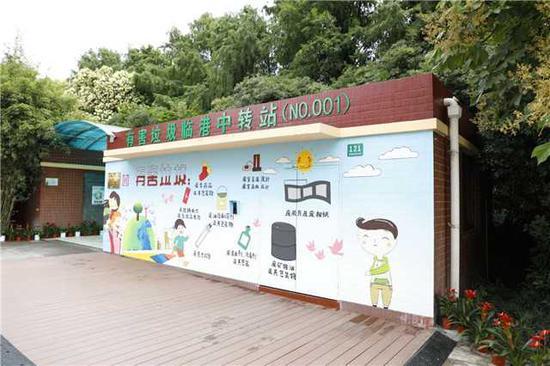 上海首个有害垃圾全品类收集无人值守中转站揭牌