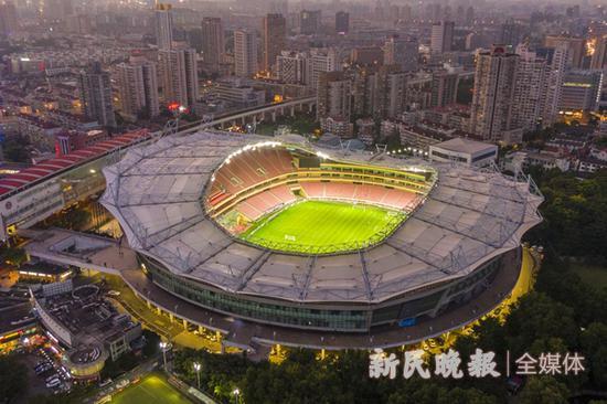 8月8至9月26日虹口足球场内场申花主场首次向市民开放