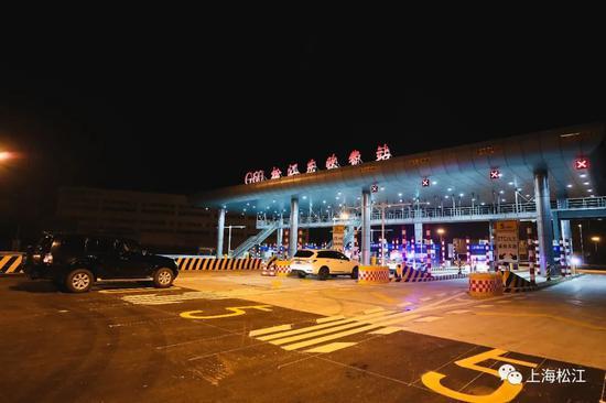 G60松江东收费站正式通车 松江往返市区有了新选择