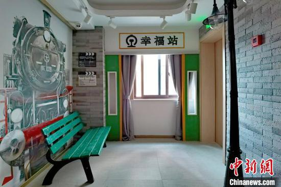 """""""记忆家园""""内,每一层电梯门打开,不同的记忆场景映入眼帘。 康玉湛 摄"""