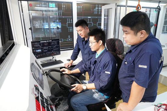 上海公交有了新能源车故障维修系统 可解决85%的故障