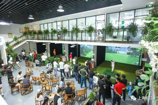 上海市第三届市民运动会高尔夫项目在松江举行
