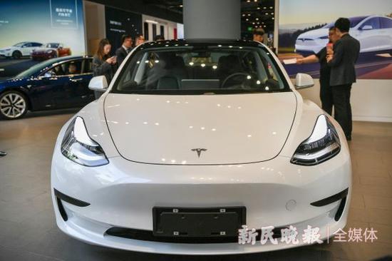 中国制造特斯拉Model 3即将登陆欧洲 启动整车出口业务