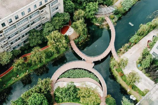 中扬湖景观栈桥正式开通启用 办理业务再也无需绕道