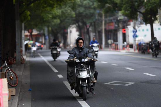 上海7小时内最高温度将打三折 下午开始气温快速下滑
