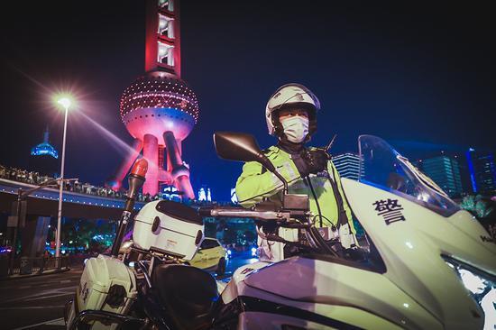 本文图片均为上海市公安局提供