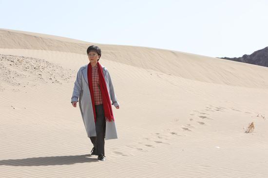 沪剧电影《敦煌女儿》剧照