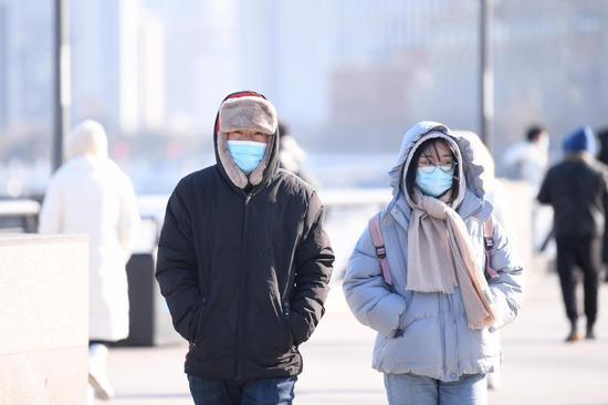 上海周五最高气温升至17℃ 周日最低气温跌至冰点之下