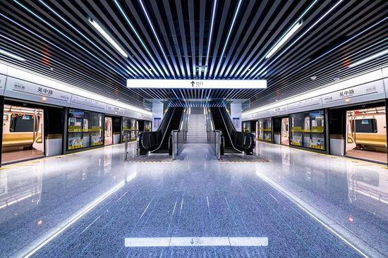上海轨交15号线开通在即 连通9座高校3个国家级科创园区