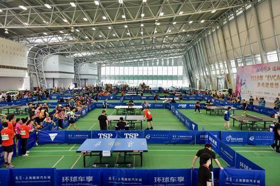 上海乒乓球运动底蕴深厚