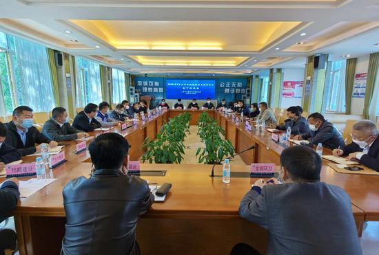 上海多部门联合约谈超限运输重点监管企业