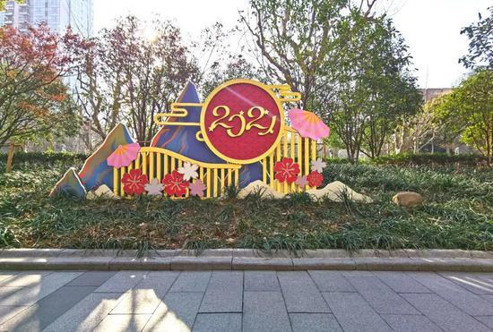 淮海中路普安路绿地 本文图片均由 上海市绿化和市容管理局 提供
