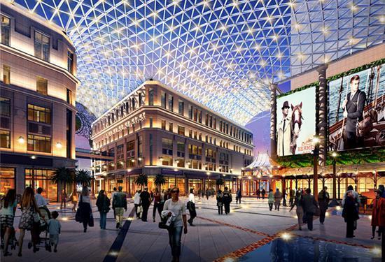 """外滩中央广场""""最美玻璃穹顶""""效果图 本文图均为上海黄浦区供图"""