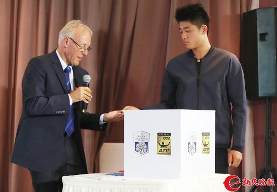 上海网球大师赛男单签表出炉 首轮即上演中国德比