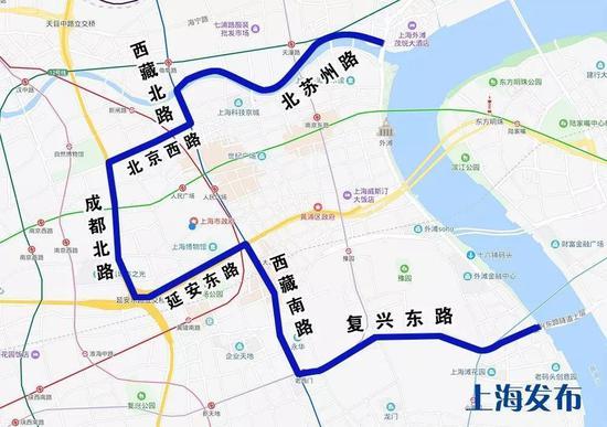 跨大年夜上海这68条公交线将临时绕改道 具体一览