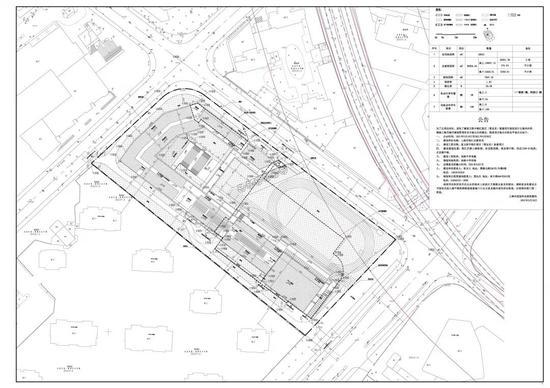 徐汇区人民政府网站上公示了复旦附中徐汇校区(暂定名)新建项目规划设计方案2