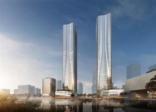 张江科学之门建设又有新进展 西塔楼预计2024年底竣工