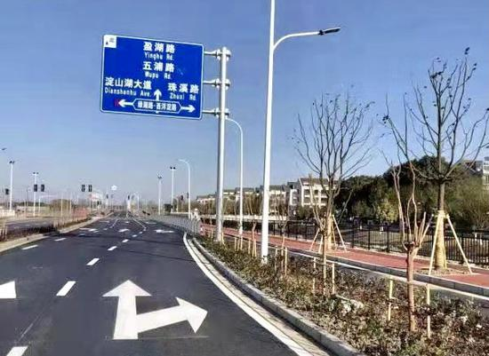 长三角示范区又一省际断头路通车 连通青浦与昆山