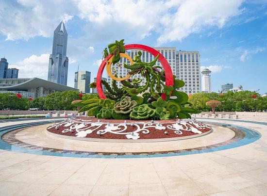 上海未来将成公园城市 公园绿地内将设迎春花市、假日花市