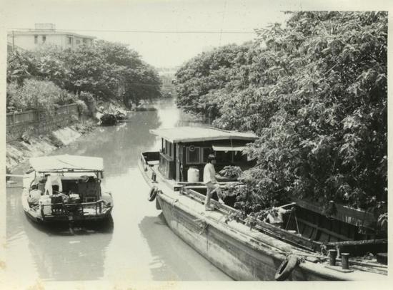 旧时高桥港