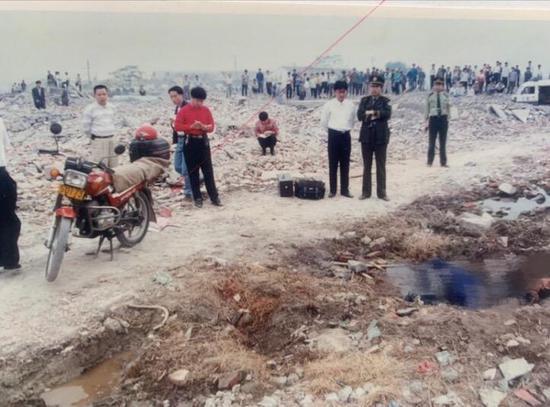 22年前案发现场照片