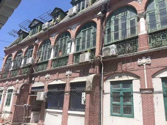 有着116年历史的老宅外观 邵宁 摄