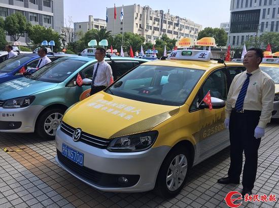 图说:上海出租车 新民晚报首席记者 曹刚 摄