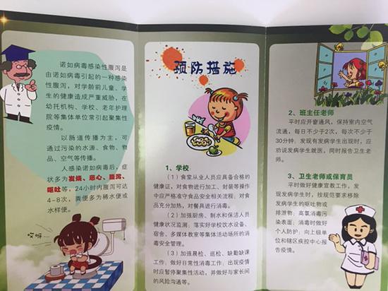 学校如何预防诺如病毒感染。上海杨浦区疾控中心 供图