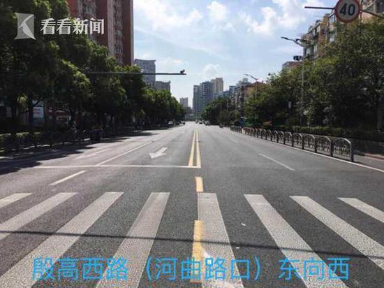 殷高西路增设可变车道 沪11月底消除50处交通拥堵点