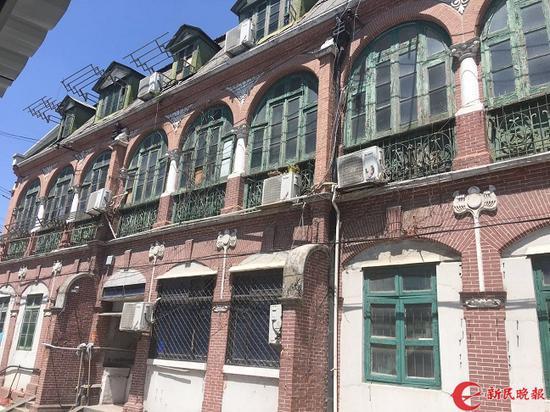 图说:2017年4月,老房子被列为杨浦区文物保护点。邵宁 摄