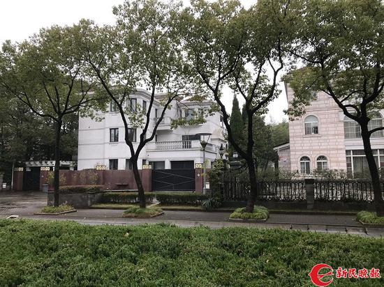 图说:汤臣高尔夫园区小区 来源/新民晚报记者 徐驰摄