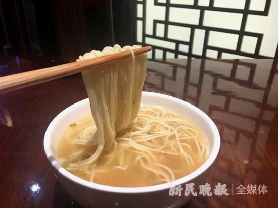 老半斋刀鱼汁面悄然上市原材料替换 口感无明显变化
