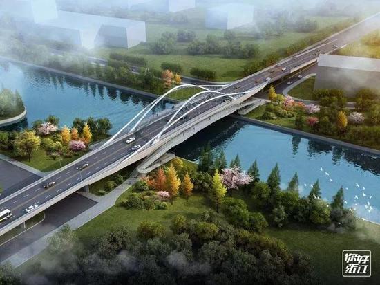 哥白尼路桥完成验收:毗邻地铁站 串起网红地标