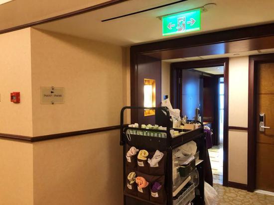 △金茂大厦76楼已改为了酒店正常房间。