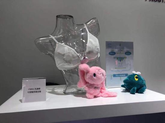 Cyrcadia公司的可穿戴的AI乳腺癌筛查设备