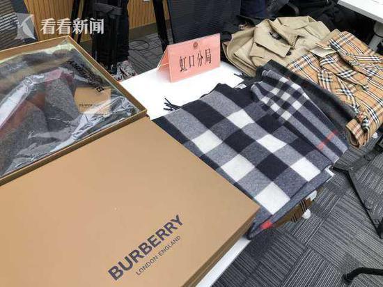上海公安机关侦破多起制售假冒知名品牌商品案