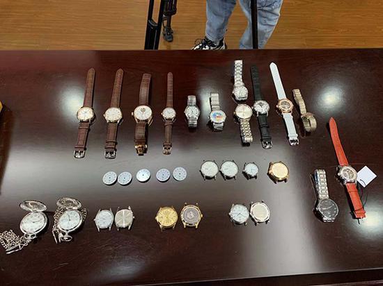 上海牌网红款手表遭高仿销量大幅下降 11名嫌疑人被抓