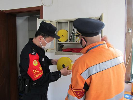 铁路上海北郊站安全大排查 为复工复产提供保障