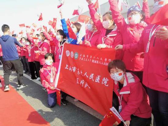 上海最后一支回沪援鄂医疗队10日归来 坚守雷神山51天