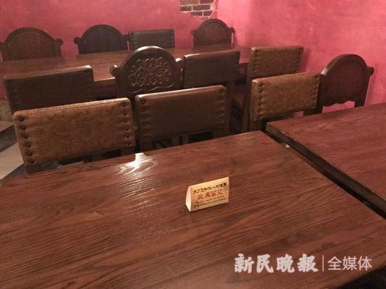 图说:餐厅入座率控制在50%