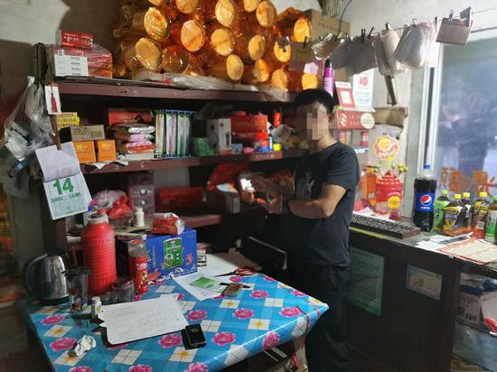 崇明一男子盗窃农村杂货店财物接连得手 已被刑事拘留