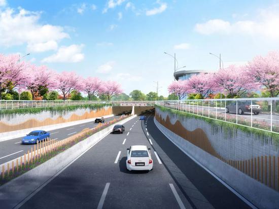 世博文化公园地下通道预计明年6月竣工 全长2353米