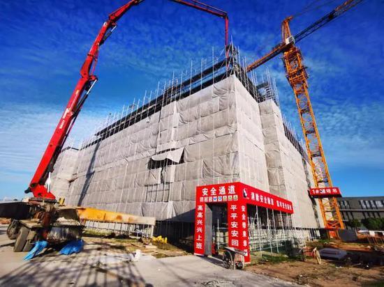浦东机场这一项目未来将实现货物作业区100%无人化操作 建筑面积超1.2万㎡