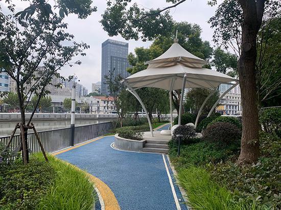 上海已完成绿道建设1093公里 赏景漫步健身还可以遛娃