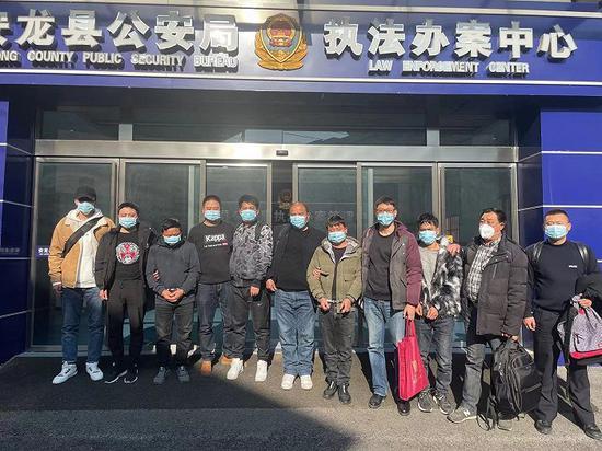 图片来源:上海警方