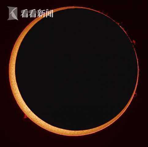 十年一遇日环食 黄梅天里上海人怎么看到