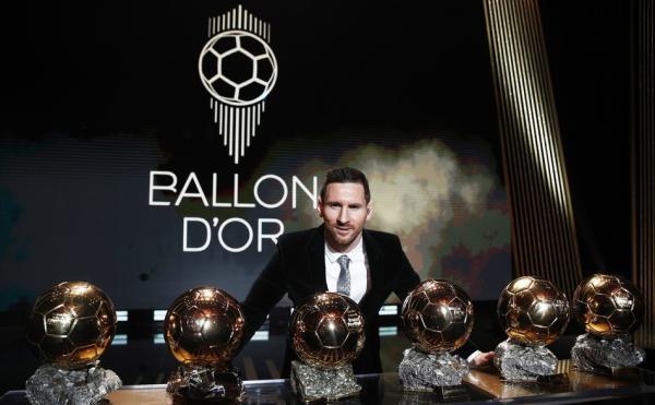 梅西独揽6座金球奖 数据证明他就是历史第一人