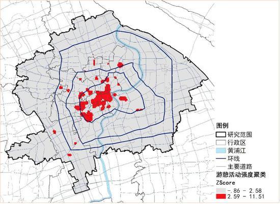 中山公园 手绘地图
