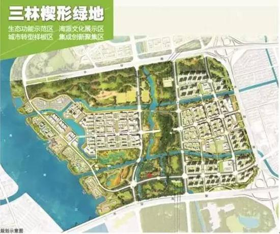 池店南片区三期规划图